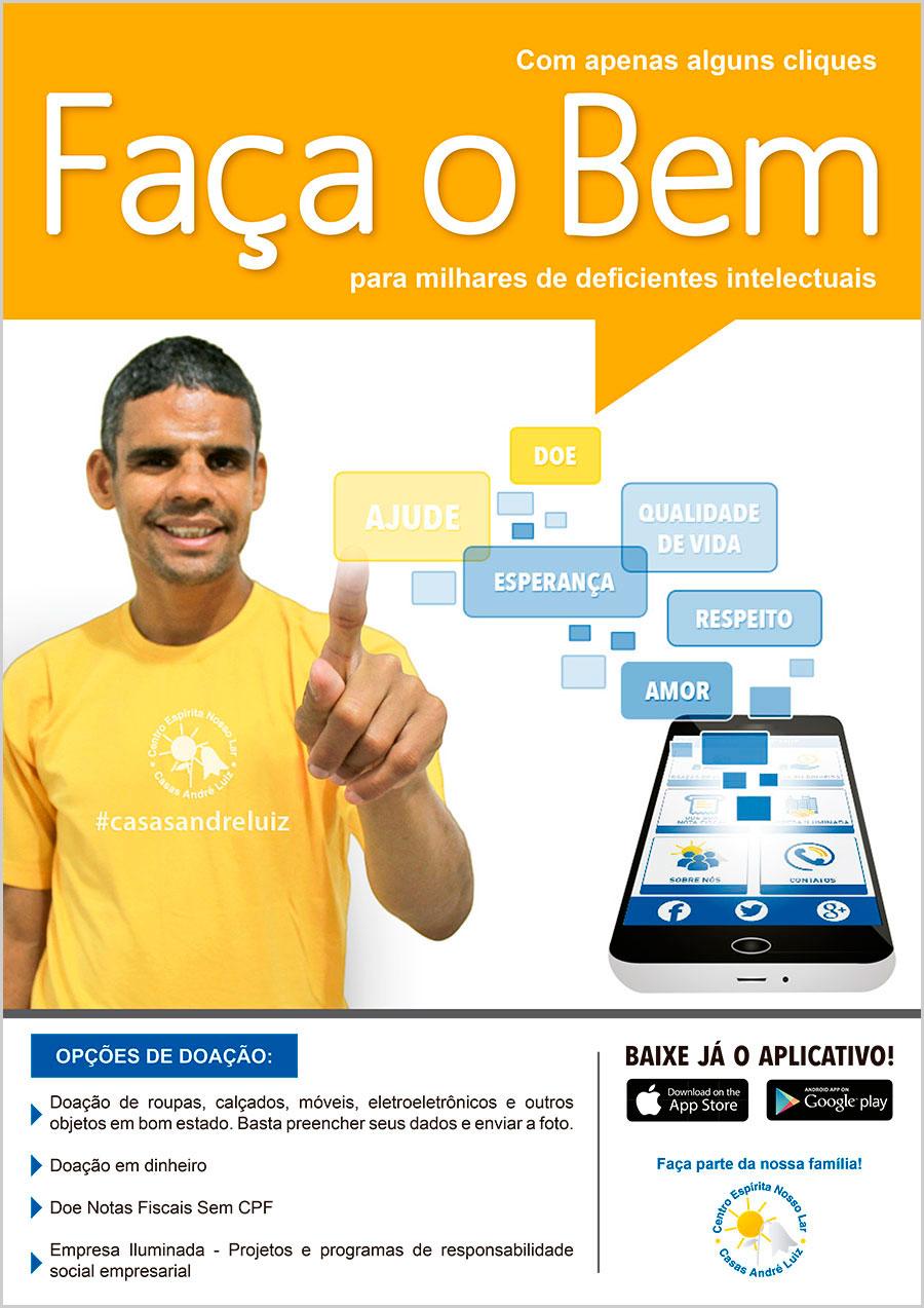 Cartaz - Campanha para Casas André Luiz - Portfolio de Designer Gráfico, web Designer, Edição de Vídeo, Fabiano Augusto