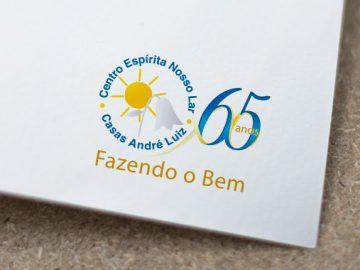 Reestilização de Logotipo para os 65 anos das Casas André Luiz