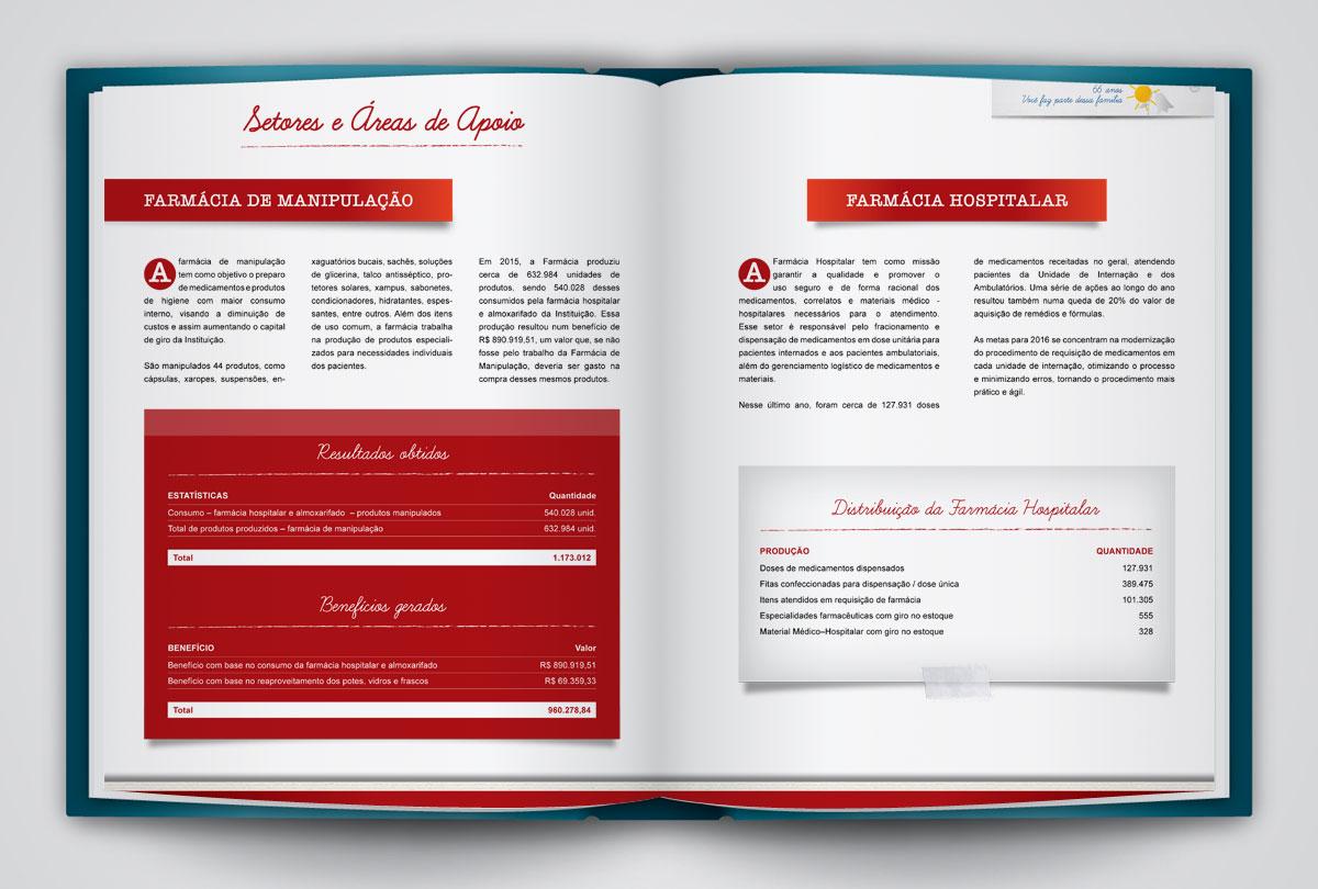 Portfólio Designer Gráfico e Web - Anuário Casas André Luiz