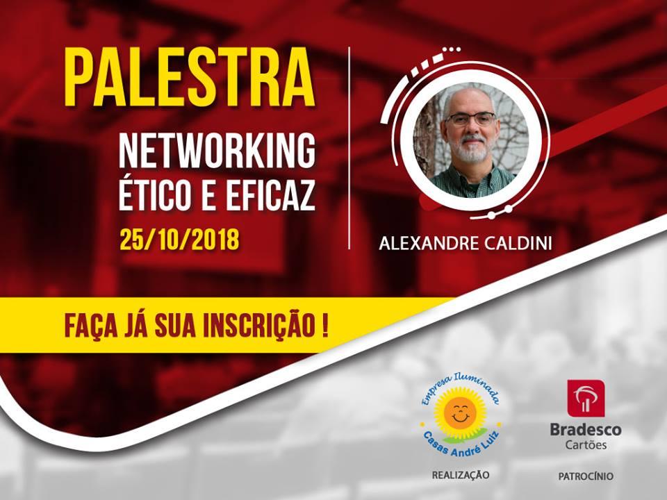 Flyer - Evento de Certificação das Empresas Iluminadas Casas André Luiz 2018