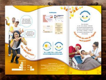Folder 2018 – Departamento de Voluntariado das Casas André Luiz