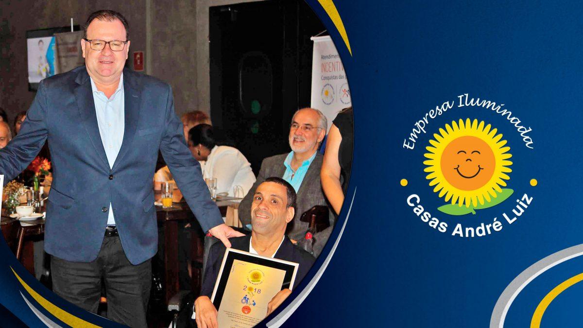 Campanha Pós Evento - Evento de Certificação das Empresas Iluminadas Casas André Luiz 2018