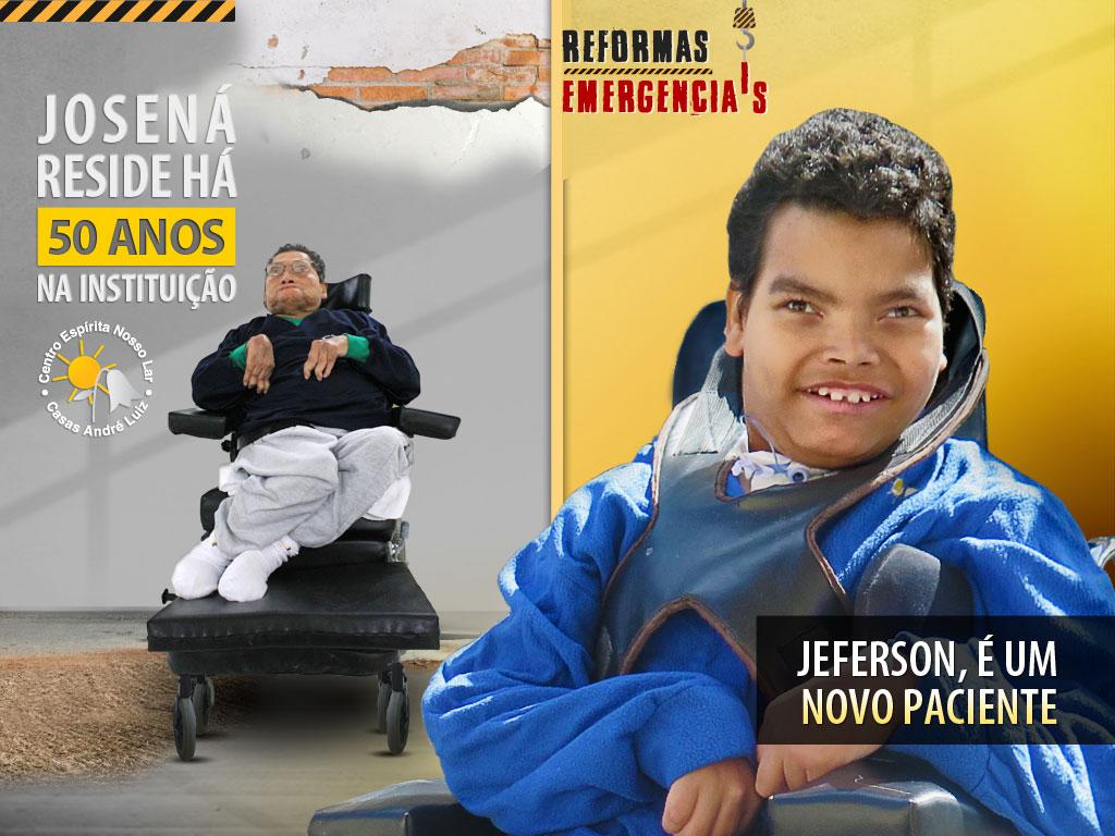 Flyer Digital - Campanha de Divulgação de Necessidades de Materiais para Construção para a Casas André Luiz