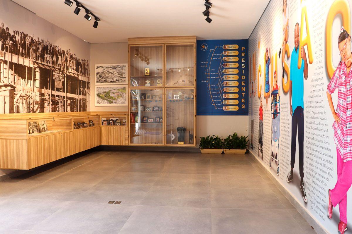 Comunicação Visual - Memorial Casas André Luiz - Portfólio