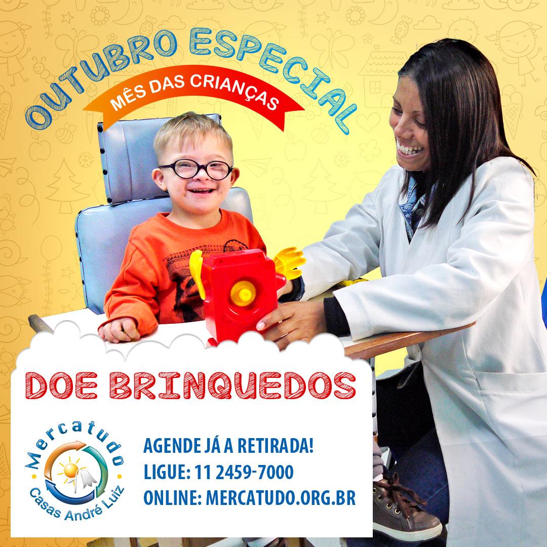 Posts para Redes Sociais - Campanha de Doação de Brinquedos para a Casas André Luiz - Portfólio