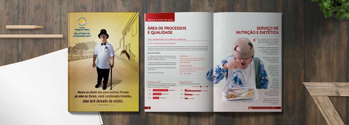 Relatório de Atividades, Balanço e Anuário Institucional Casas André Luiz - 68 anos - 2017
